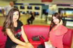 رئيسة التحرير التنفيذية لفريزيا بلبنان جوزيان يوسف مع ملكة جمال لبنان رهف عبدالله