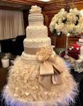 أفكار جديدة لكعكة الزفاف