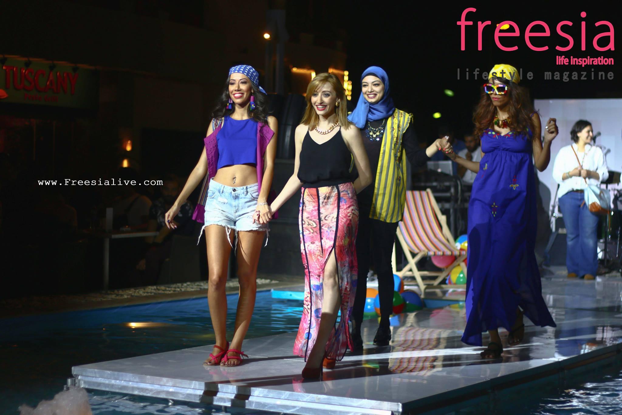 f507ff0a6 Freesia - إنجي القمبشاوي.. الأنثى المصرية عندما تمتلك عدة مواهب